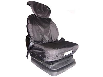 Seat Cover Large With Lumbar Support Grammer Black