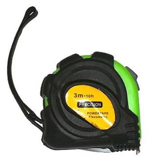 2045 Tape Measure 3 metre - with rubber grip