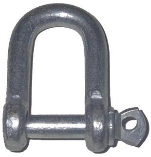 5036 Shackle D 1 4 inch Screw