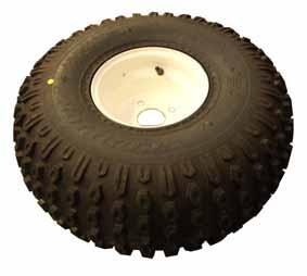 2342 Wheel & Tyre ATV 4 Stud 100mm PCD 22 x 11.8 inch