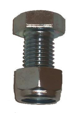 2022 Bolt M24x50   Nyloc Nut for 26mm Topper Blade