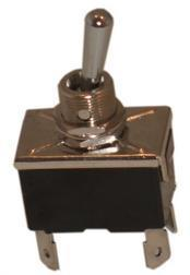4939 Switch Toggle 2 Pos. 250V/6A - 4 Spade Terminals