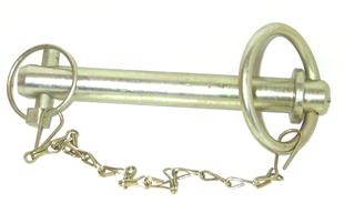 261 Towing Pin 7/8 x 6 inch with linch pin + chain