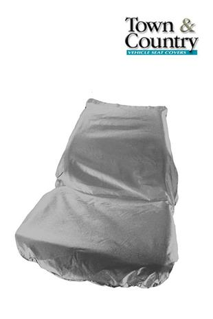 7086 Seat Cover  - Universal Tractor Standard Grey