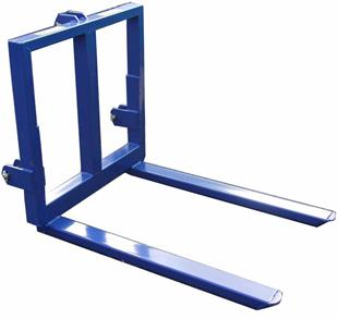 9266 3 Point Linkage Pallet Forks Bale Mover 2200lbs