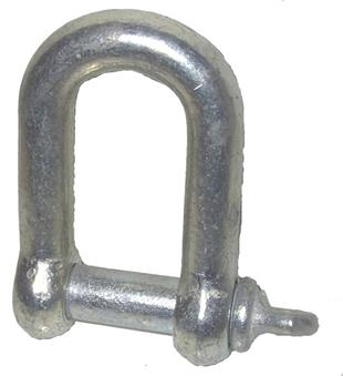 5045 Shackle D 1 Inch Threaded