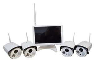 15152 Security System. IP Camera 4CH Wireless NVR 500GB