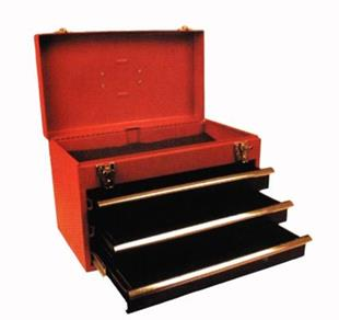 2181 Toolbox Steel 22 x 10 x 11 inch with 3 drawers