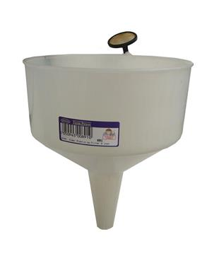 891 Funnel Clear Plastic c w Filter 9 inch