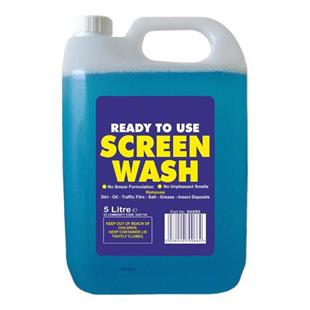 1289 Screen Wash 5L - Ready to use.