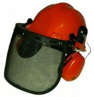 17026 Safety Helmet   Faceguard   Ear Muffs  Chainsaw