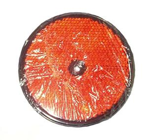 6069 Reflector Round Red 86mm