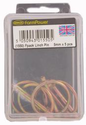 1551 FPack Linch Pin 6mm x 5 pcs