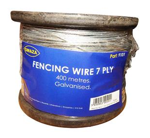 9101 Fencing Wire 7 Ply Galvanised 400 metres