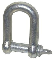 5043 Shackle D 3 4 inch Threaded