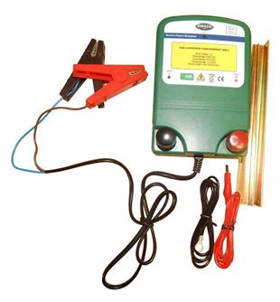 9033 Electric Fence Energiser APPOLO 12v 0.6 Joules