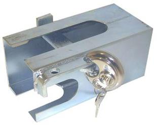 3623 Hitch Lock + Round P/Lock + Keys (3615 + 3617)