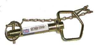 259 Towing Pin 3/4 x 3 7/8 inch with linch pin + chain