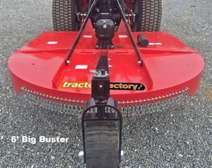 TF0144 1.8m (6ft) Rear Wheel Topper Big Buster 30 to 90hp