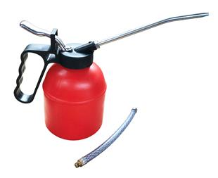881 Oil Can Plastic 500cc c w Rigid   Flexible Spouts