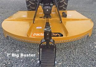 TF0145 2.1m (7') Wheeled Topper - Big Buster (30hp-90hp)