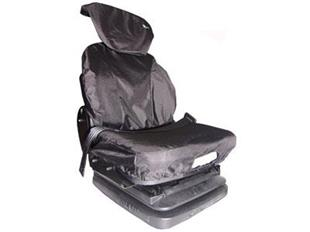 7061 Seat Cover Large with Lumbar Support Grammer Black
