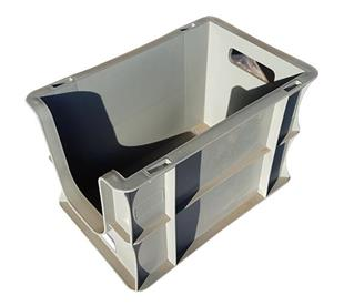 2243 Open Front Picking Box Grey 300x200x200mm 7L