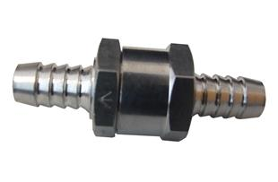 1285 One Way Fuel Valve - 6mm- Aluminium